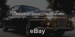 Jaguar Coventry Wood XJ6, XJ8, XK8, XKR, XK, V8, S-Type Walnut BURL Gear Shift Knob