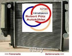KÜHLER Wasserkühler, BMW Z3, 1,8 & 1,9 L auch BMW E36 316-320 Schalter mit Klima