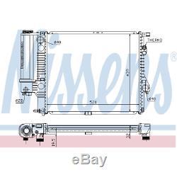 Kühler Motorkühlung Nissens 60607A