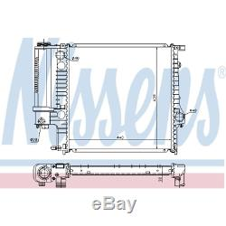 Kühler Motorkühlung Nissens 60623A