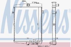 Kühler Motorkühlung Nissens 65081