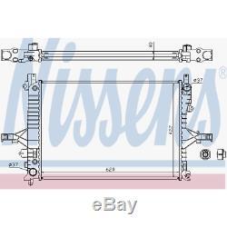 Kühler Motorkühlung Nissens 65553A