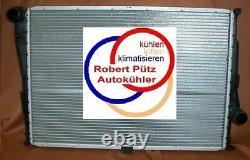 Kühler, Wasserkühler Erstausrüster, BMW E46, 320, 323, 325, Schaltgetriebe