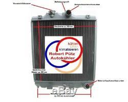 Kühler, Wasserkühler, Honda Civic, Honda CRX, 1,4 L 1,6 L, Schalter
