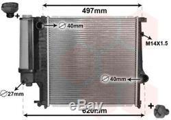 Kühler Wasserkühler Motorkühlung Motorkühler IR PLUS für BMW E30 E36