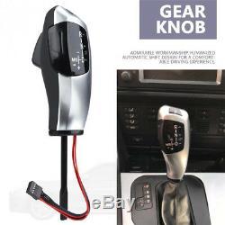 LED Auto Shift Knob Shifter Lever for BMW E46 E60 E61 Automatic Gear Head