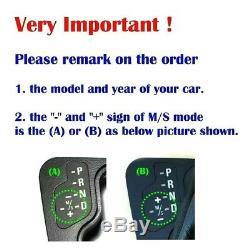 LED Gear Shift Knob For BMW E46 E39 E60 E90 E92 E82 E87 E38 E84 E83 E53 E86 E89