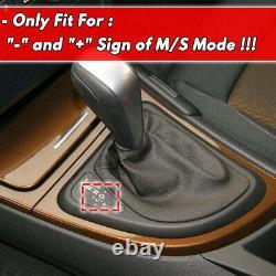 LED Gear Shift Knob Lever LHD Automatic Knob For BMW 04-10 X3 E83 X1 E84