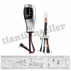 LED LHD Automatic Gear Shift Knob Shifter Lever Modified for BMW E81 E82 E84 E87
