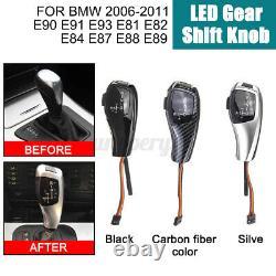 LHD Automatic LED Gear Shift Knob for BMW E90 E91 E92 E93 E81 E82 E87 E88