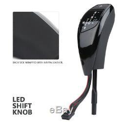 LHD Automatic LED Gear Shifter Knob For E90 E91 E93 E81 E82 E84 E87 E88 E89