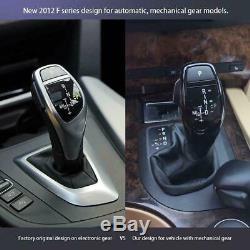 LHD Automatic LED Shift Knob Gear Shifter Lever For E46 E60 E61 E63 E64 New
