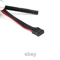 LHD Automatic LED Shift Knob Gear Shifter Lever for E46 E60 E61 E63 E64 Silver