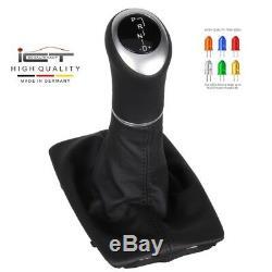 Leather ICT gear shift knob boot Mercedes C CL. W204 S204 C204 automatik LED A58