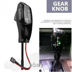 LeatherPlastic LED Automatic Gear Shift Knob Shifter Lever For BMW E38 E39 E53