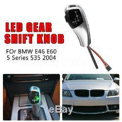 Led Automatic Shift Gear Shift Knob For Bmw 98-06 E46 For E60 5 Serise 04
