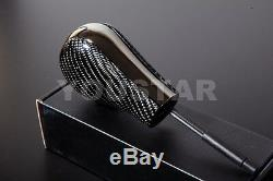Luxury Auto Gear Knob for BMW E46 E60 E39 X5 X3 Z3 CARBON / SHADOW CHROME