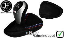 M/// Stitch Suede Automatic Dct Gear + Plastic Frame For Bmw M3 E90 E92 E93