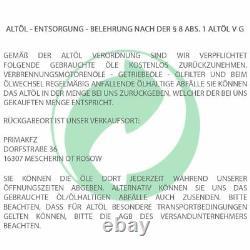 MEYLE Getriebefilter Dichtung Stecker Automatikgetriebeöl Mercedes 722.6 Vito