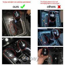 MQB DSG Automatic LED Gear Shift Knob with Boot and Wire Fit for MK7/7.5 R GTD