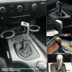 Modified LED Automatic Car Gear Shift Knob Shifter Lever for BMW E46 E60 E61 &