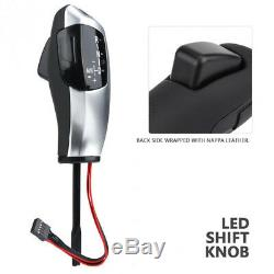 Modified LED Gear Shift Knob Shifter Lever Automatic Gear Head for BMW E89 E90