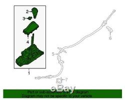 NEW OEM Ford Center Console Shifter Lever CT4Z-7210-MC Edge Explorer 2012-2015