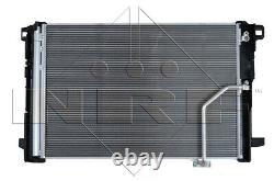 NRF Kondensator Klimaanlage Klimakühler Alu + Trockner für Mercedes C CLS E GLK