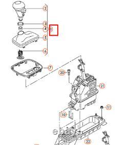 New Audi A3 Rs3 8p Automatic Gear Shift Knob Lhd 8p1713139aaock Oem