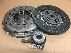New Luk 3 Piece Clutch Kit For Ford Transit Rwd 2.4 Tdci 626 3034 33 626303433