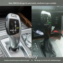 New Modified LED Automatic Car Gear Shift Knob Shifter Lever for BMW E46 E60 E61