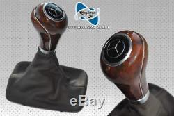 New Origi Automatic Gear Knob Wooden Selector Mercedes W207 A207 W212 W204