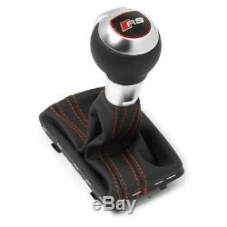 Original Audi RS3 (8V) Gear Lever Handle DSG Tuning Sport Leather Shift Knob OEM