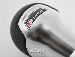 Original Audi TT (8S) DSG lever handle S-tronic gear knob black alu OEM