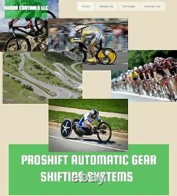 ProShift Automatic Gear Shifting TRI/TT Shimano Di2, SRAM eTap, Campy EPS