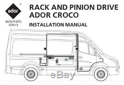 Ram Promaster Automatic Power Sliding Door Opener Commercial Passenger Van DODGE