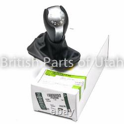 Range Rover L322 Gear Shift Knob Handle Leather Boot Gaiter Automatic 20032012