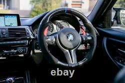 Red Steering Wheel Paddle Shifter Extension For BMW M2 M3 M4 M5 M6 X5M X6M, etc