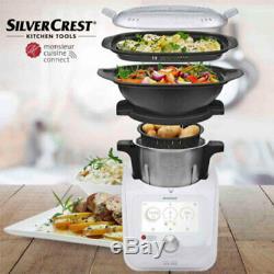 Silvercrest Monsieur Cuisine Connect Lidlomix Lidl robot v. SKMC 1200 C3! 2020