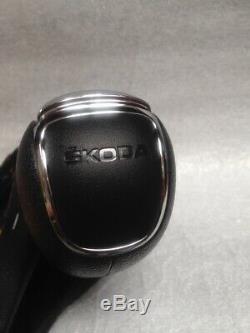 Skoda Rapid Dsg Gear Knob & Gaiter New Feo 5jb713123 S 2012-2015 Lhd Automatic