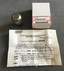 Subaru Genuine STI Titanium Gear Shift Knob for Impreza/Forester/Legacy/Outback
