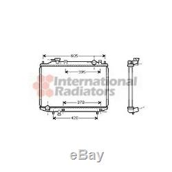 VAN WEZEL 27002171 Kühler, Motorkühlung für Ford Ranger Mazda B-Serie