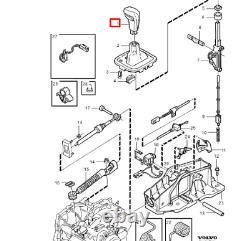 VOLVO V70 MK1 Automatic Gear Shift Knob Leather 9181356 NEW GENUINE