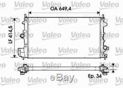 Valeo Kühler Wasserkühler Motorkühler 734339 I Neu Oe Qualität