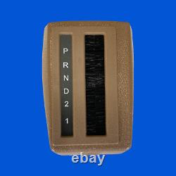 Volvo 240 245 DL GL automatic transmission gear selector cover beige 1294420